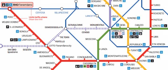 Come Raggiungere La Fiera Di Milano A Rho E Via Tortona Milan Apartment Rental